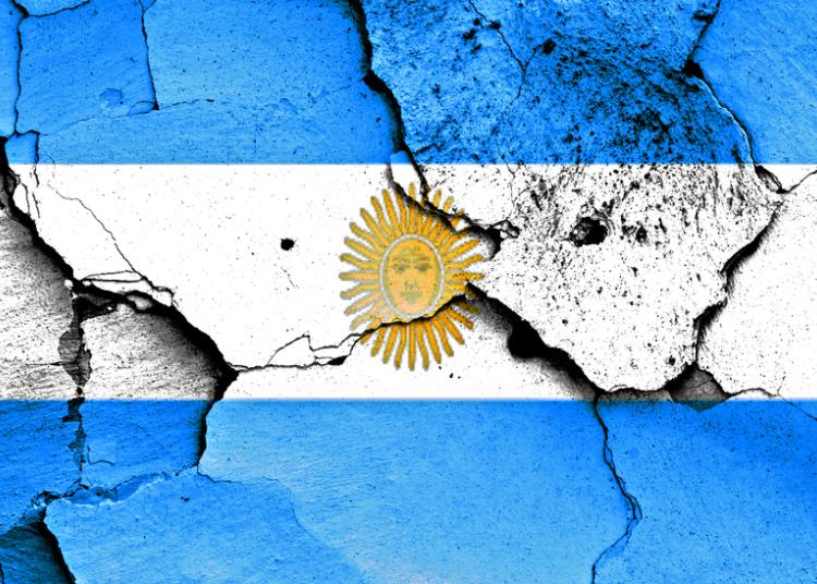 bandera argentina rota empresa